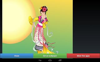 Screenshot of Mid-Autumn Mooncake Wallpapers