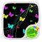 Neon Butterflies Keyboard 1.79.5.83 Apk