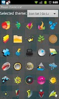 Screenshot of Icon Set I Go Launcher