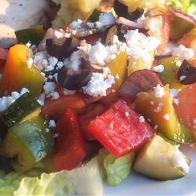 Sylvia's Easy Greek Salad