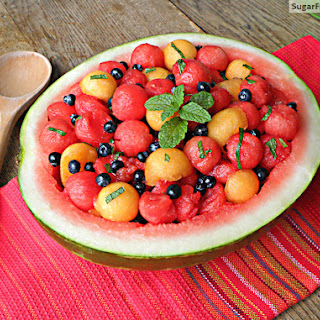 Watermelon Salad With Mint And Honey Recipes