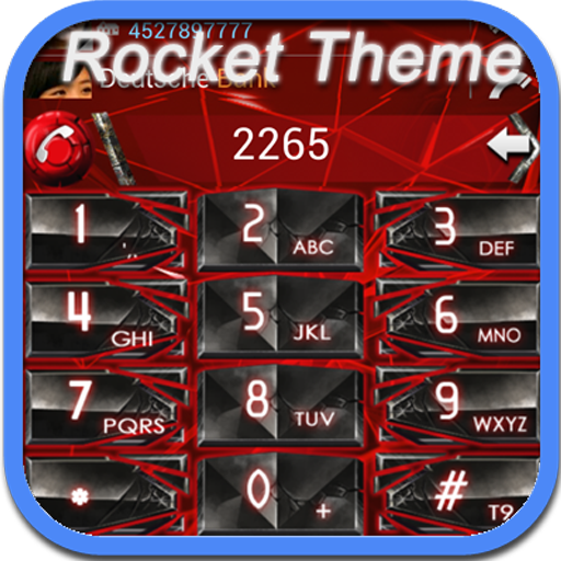 RocketDial Cool Red Theme LOGO-APP點子