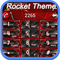 RocketDial Cool Red Theme