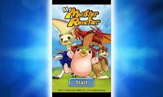 Screenshot of My Monster Rancher