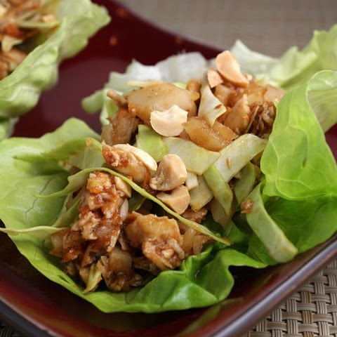 Sweet & Spicy Chicken Lettuce Wraps Recipe | Yummly