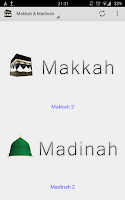 Screenshot of Makkah & Madinah live