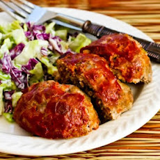 Meatloaf Balls with Italian Sausage, Ground Beef, and Peppers