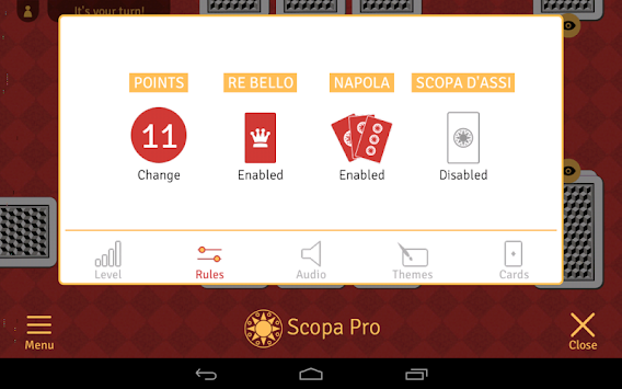 Scopa Pro APK screenshot thumbnail 12