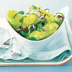 Green Salad With Lime Dressing