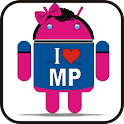 Droid I Love MP doo-dad icon