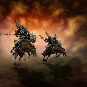 Warriors of Fire by Ketut Manik - Artistic Objects Toys