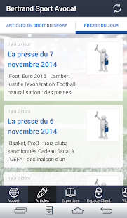 Bertrand Sport Avocat - screenshot