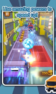 Speed City Kid Run 3D - screenshot