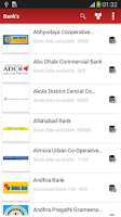 Screenshot of All India Bank Info Offline