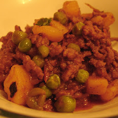 Sweet and Sour Kheema (mince)