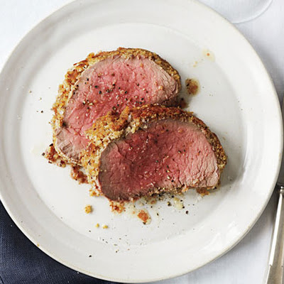Roast Beef Tenderloin with Caesar Crust
