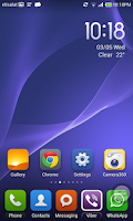 Screenshot of Xperia Z2 Wallpapers