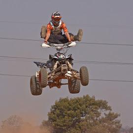 Quadbike trick by Dirk Luus - Sports & Fitness Motorsports ( thrill, extreme, quadbike, air, motorsport )