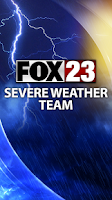 Screenshot of FOX23 Weather