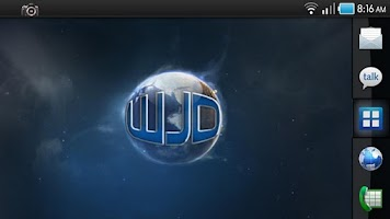 Screenshot of WJD Designs Galaxy Live