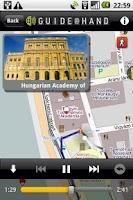 Screenshot of Budapest GUIDE@HAND