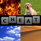 4 Pics 1 Word Cheat All Answers APK icon