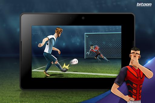Kicks!Football Warriors-Soccer - screenshot