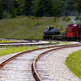 Little Red Caboose by Donna Neal - Transportation Trains