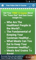 Screenshot of Low Carb Diet!