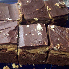 Healthier Nutella Peanut Butter Brownies