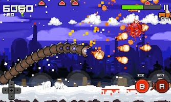 Screenshot of Super Mega Worm Vs Santa 2