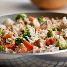 Skillet Fiesta Chicken and Rice