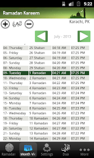 Ramadan Times Screenshot