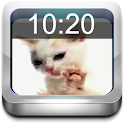 Cat Licking Live Wallpaper icon