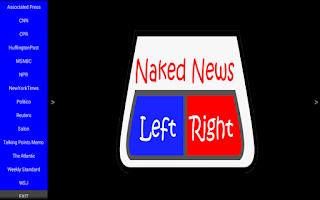 Screenshot of Naked News