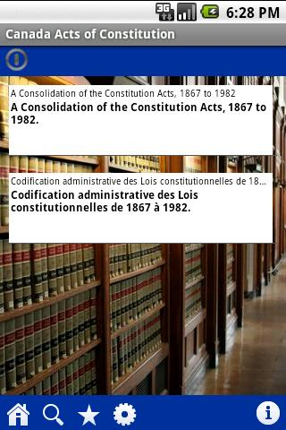 Acts of Constitution of Canada