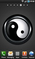 Screenshot of Feng Shui Yinyang BW LWP