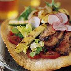 Grilled Flank Steak Tostada