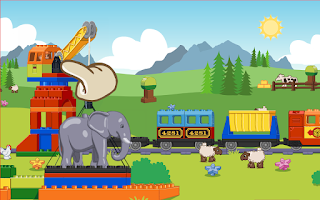 Screenshot of LEGO® DUPLO® Train