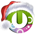 Christmas falling snow free icon