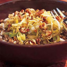 Kasha with Leeks and Toasted Pecans