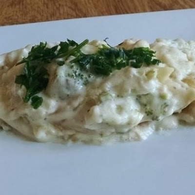 Crock Pot Chicken Broccoli Lasagna