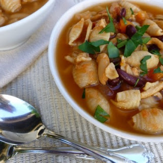 Weight Watchers Slow Cooker Chicken Pasta Fagioli