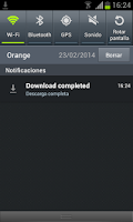 Screenshot of Download Manager - Downloads