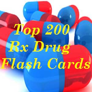 Top 200 Rx Drug Flash Cards For PC / Windows 7/8/10 / Mac – Free Download