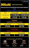 Screenshot of Malaysia Gold Price