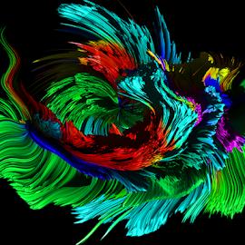 color abstract by LADOCKi Elvira - Digital Art Abstract