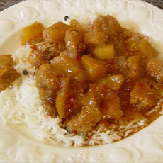 Crock Pot Pork and Pineapple Curry