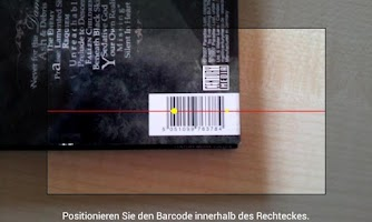Screenshot of Picard Barcode Scanner