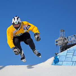 Michael Johansson #CrashedIce © 2014 Boucerman Photography by Thomas Nelson - Sports & Fitness Other Sports
